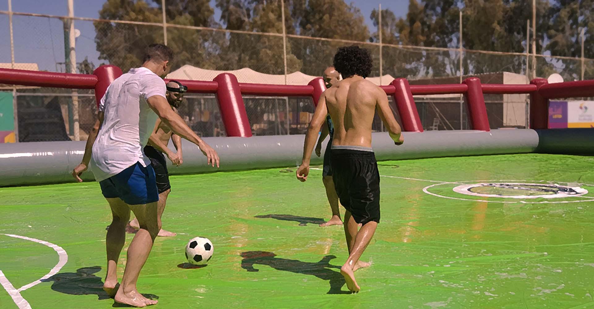 فوتبال صابونی